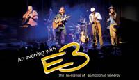"""E3 – das steht für Emotional Essence of Energy. Genau das bringt die sechsköpfige Band bei ihren Konzerten auch auf die Bühne: Emotion und Energie. Im Repertoire befinden sich Songs aus den Bereichen """"American Folk"""", """"Westcoast"""", """"Blues"""" und """"Soft Pop"""". Die """"Eagles"""" oder """"Crosby, Stills, Nash & Young"""" lassen grüßen, wenn E3 Genre-Meilensteine mit eigenem Material kombinieren."""